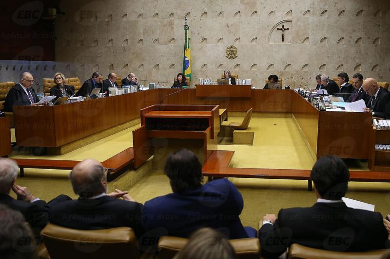 Sitzung des Obersten Gerichtshofes in Brasilien