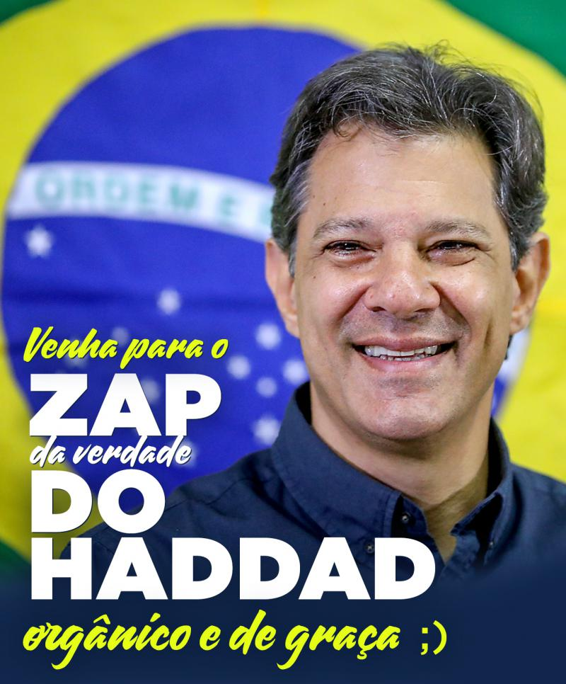 Die Arbeiterpartei des Präsidentschaftskandidaten Haddad hat Anzeige gegen die Kampagne Bolsonaros erstattet