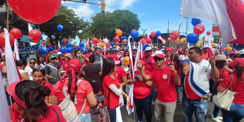 Streik der Lehrergewerkschaft in Costa Rica