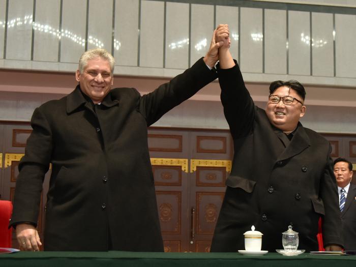 Bei seiner knapp zweiwöchigen Auslandsreise besuchte Díaz-Canel als erster kubanischer Staatschef seit vielen Jahren wieder Nordkorea