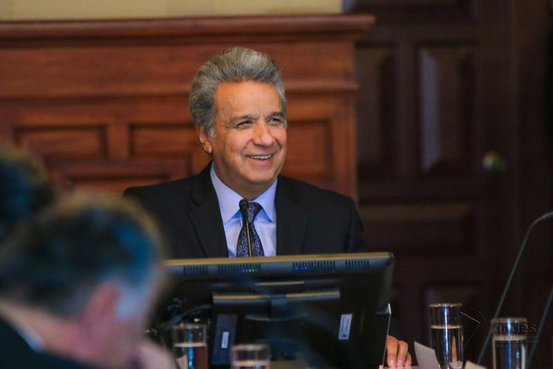 Ecuadors Präsident Lenín Moreno hält an der Isolation von Julian Assange fest