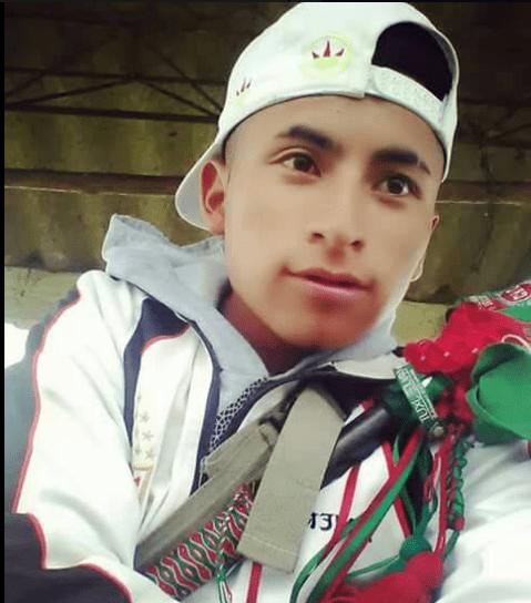 """Der ermordete Eider Campo Hurtado arbeitete im Kommunikationskollektiv  """"Pelsxhab stereo Resguardo de Pioyá"""" seiner Gemeinde in Kolumbien mit"""