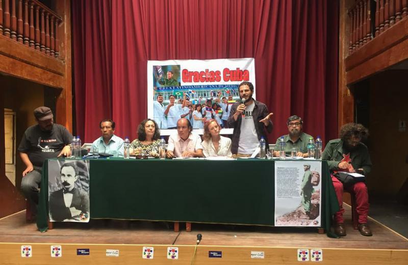 Auch vom alternativen Gipfel in Lima bekam Kuba Unterstützung
