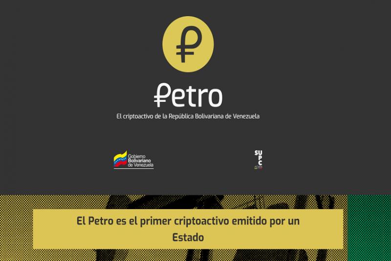 Webseite der Regierung von Venezuela zur Information über die Kryptowährung Petro