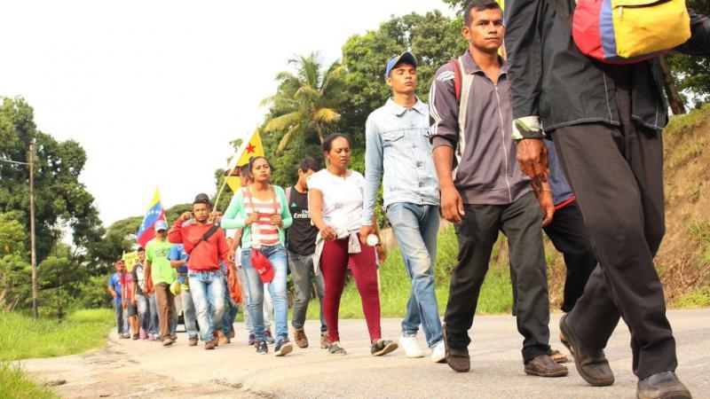 Weiter geht es auf dem Weg nach Caracas