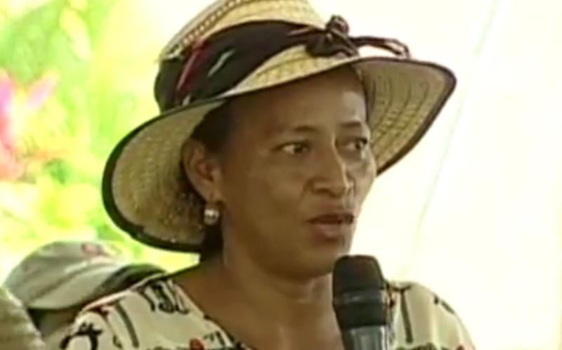 Nieves Rio prangerte Vertreibungen, Morde und Straflosigkeit im Bundesstaat Zulia an