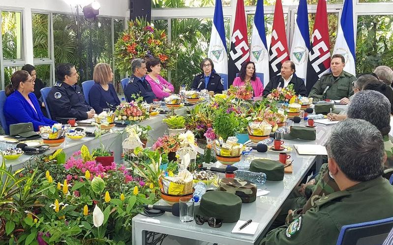Nicaraguas Präsident Daniel Ortega richtete am Samstag eine Botschaft an die Nation