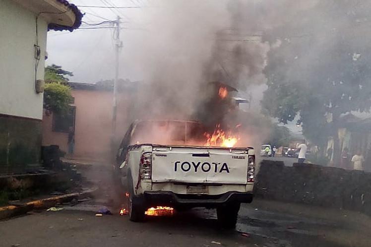 Die Ausschreitungen in Nicaragua mit einer Vielzahl von Toten und Brandanschlägen auf staatliche Einrichtungen gehen weiter