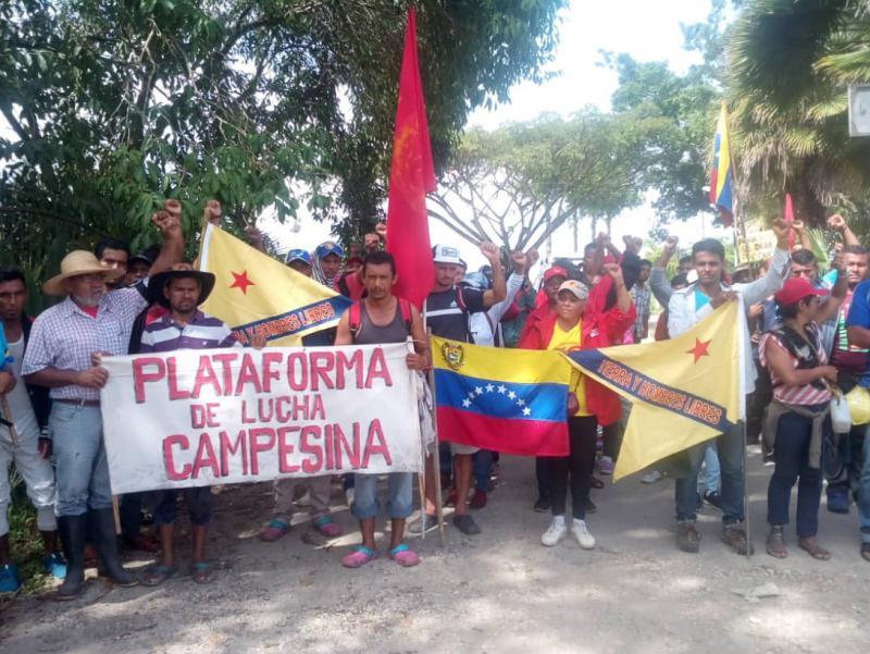 Tag 11: Empfang des Marsches in Valencia, Carabobo