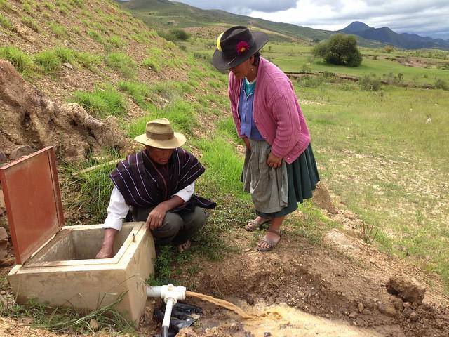Der Zugang zu Wasser und die Bewässerungssysteme haben sich in den letzten 13 Jahren in Bolivien enorm verbessert