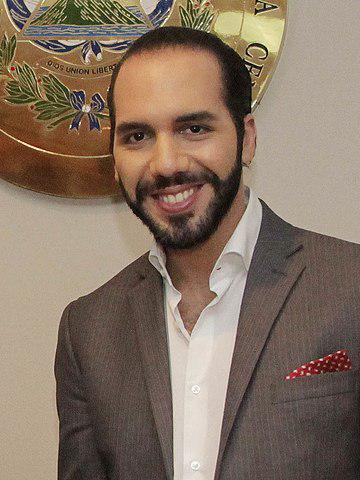 Der neue Präsident von El Salvador, Nayib Bukele