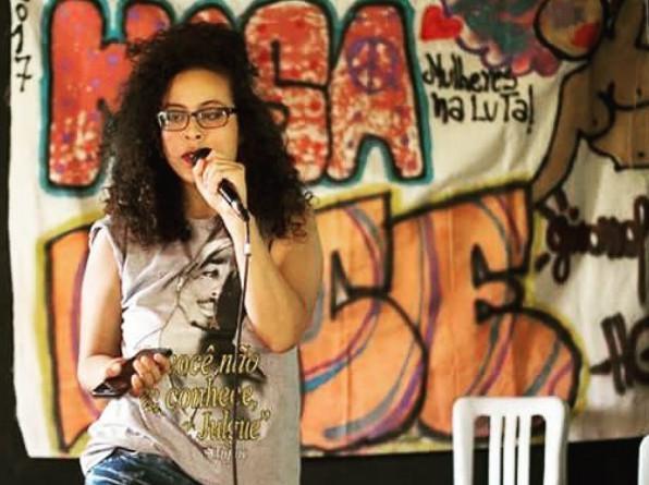 MC Cacau Rocha, funkeira und Dichterin aus São Paulo