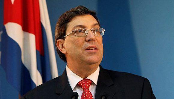 Der kubanische Außenminister Bruno Rodríguez glaubt nicht an einen Erfolg der Politik der Spaltung durch die USA