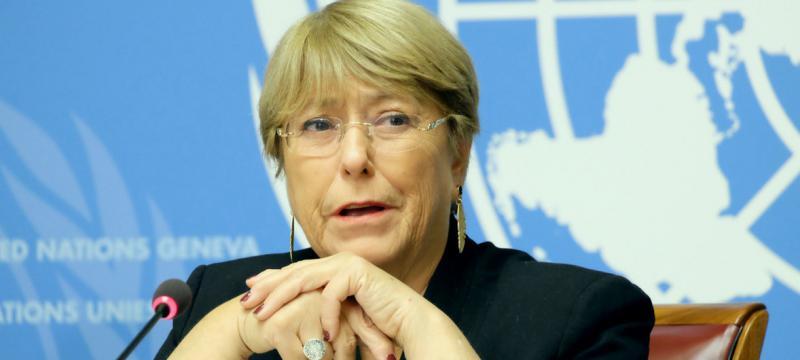 Besorgt um Chile: Michelle Bachelet