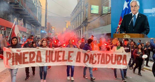 """""""Piñera riecht nach Diktatur"""". Seit dem 18. Oktober erlebt Chile die größten Proteste seit der Rückkehr zur Demokratie"""