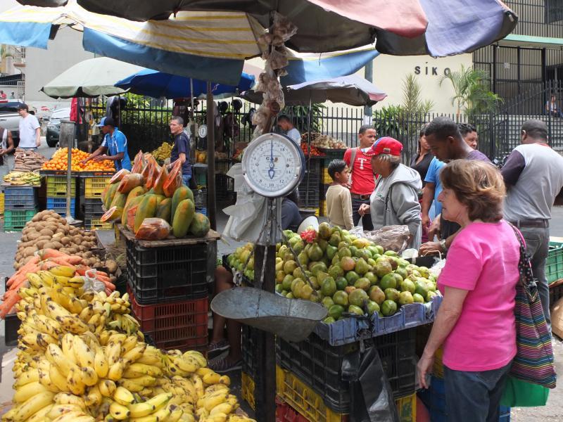 Obst und Gemüse sind immer günstig und überall zu haben