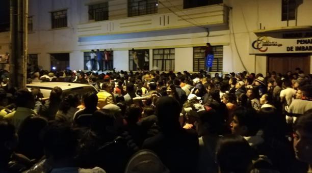 Übergriffe gegen Venezolaner in Ibarra, Ecuador (Screenshot)