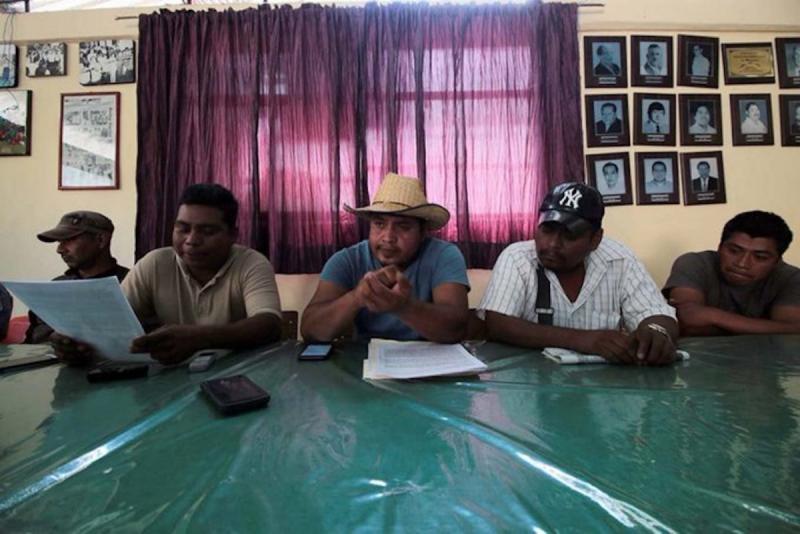 Mitglieder des Indigenen Rates