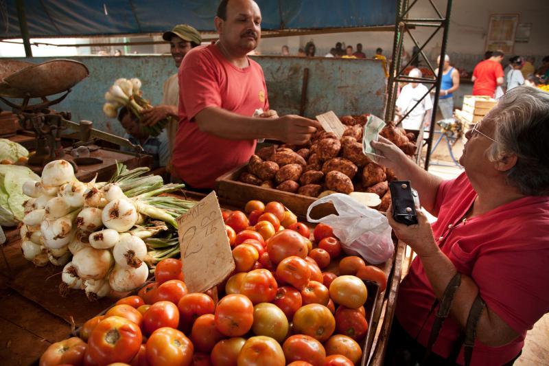 Bauernmarkt in Havanna