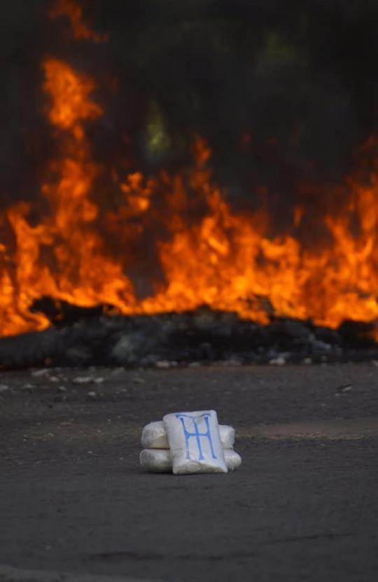 """Juan Antonio """"Tony"""" Hernández, der in den USA inhaftierte Bruder des amtierenden Präsidenten kennzeichnete seine Kokainlieferungen mit seinen Initialien """"TH"""""""
