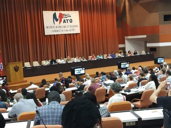 Im Rahmen des Internationalen Kuba-Solidaritätskongresses wurde bereits Anfang Mai auf das Treffen im November hingewiesen