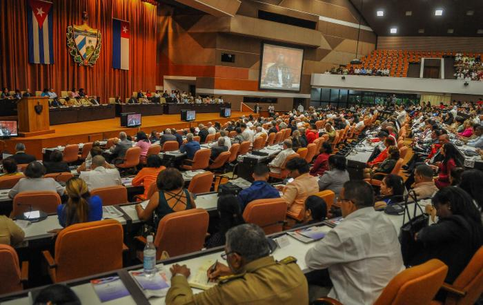 Kubas Parlament tagt am 20. und 21 Dezember. Dabei wird auch der Premierminister bestimmt | Bildquelle: https://amerika21.de/2019/12/235660/wahl-premierminister-kuba © Granma | Bilder sind in der Regel urheberrechtlich geschützt