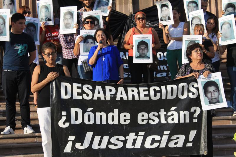 Seit Jahren suchen viele Opferfamilien ihre verschwundenen Angehörigen