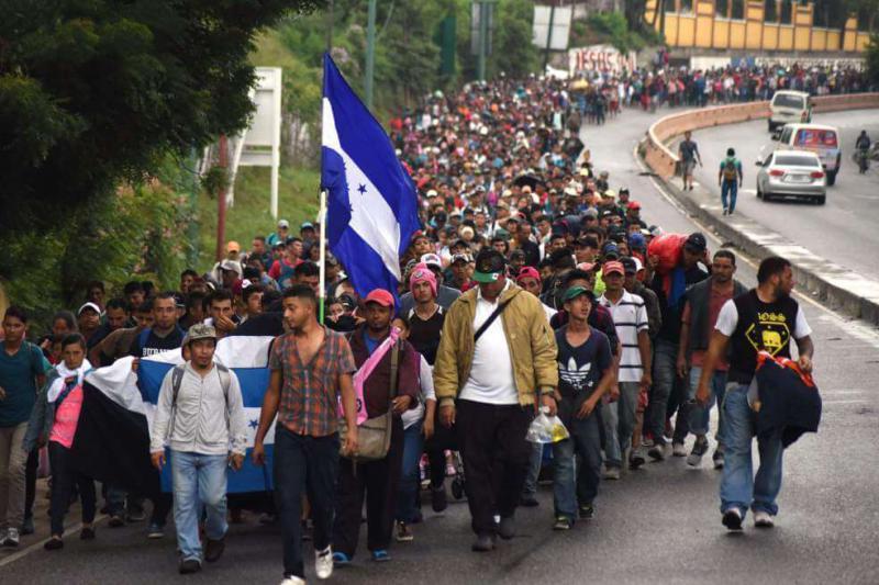 Während kurz nach Jahresbeginn knapp 100 Honduraner aus den USA ausgeflogen wurden, bildet sich in San Pedro Sula bereits eine neue Karawane