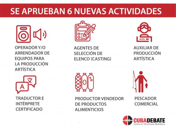 Kubas Regierung vergibt Lizenzen für den Privatsektor in sechs weiteren Sparten