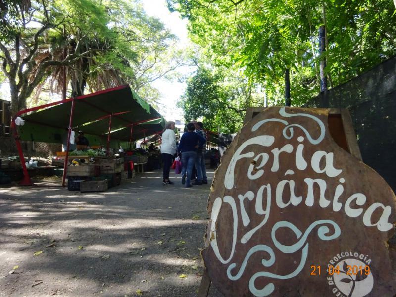 Bio-Wochenmarkt in Uruguays Hauptstadt Montevideo