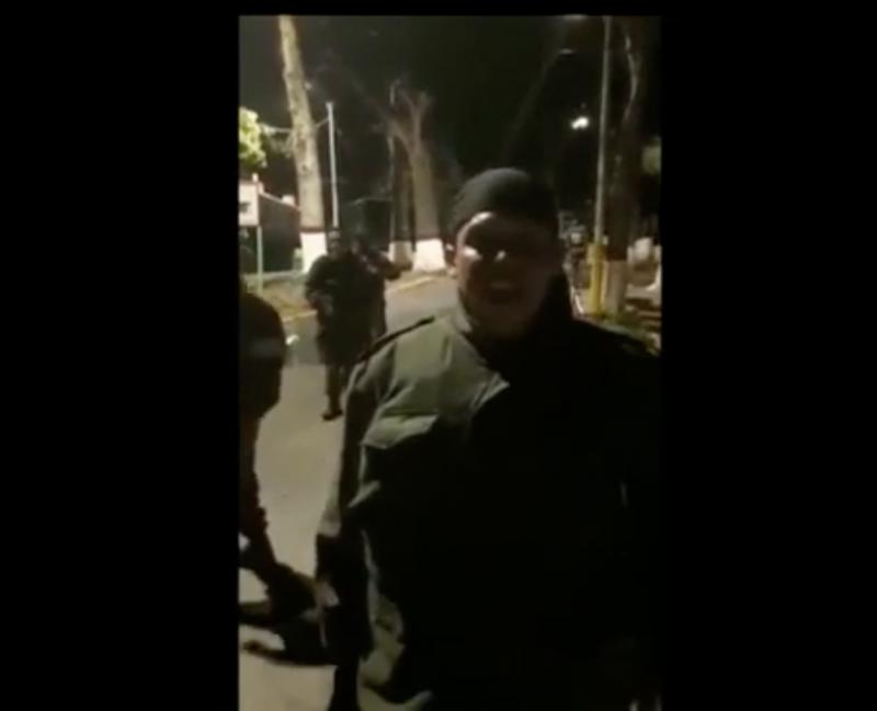 Wurde am Ende vom Volk alleine gelassen: Meuterer in Venezuela