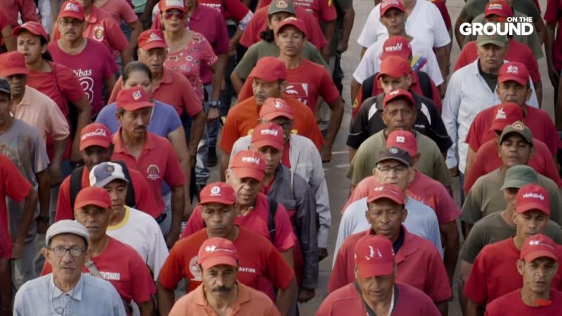 """Der Aufbau der """"Bolivarischen Milizen"""" begann schon 2009 unter dem verstorbenen Präsidenten Hugo Chávez, als sie integrierter Bestandteil der Streitkräfte wurden"""