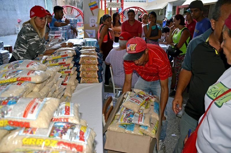 Das subventionierte Nahrungsmittelprogramm in Venezuela erreicht sechs Millionen Haushalte