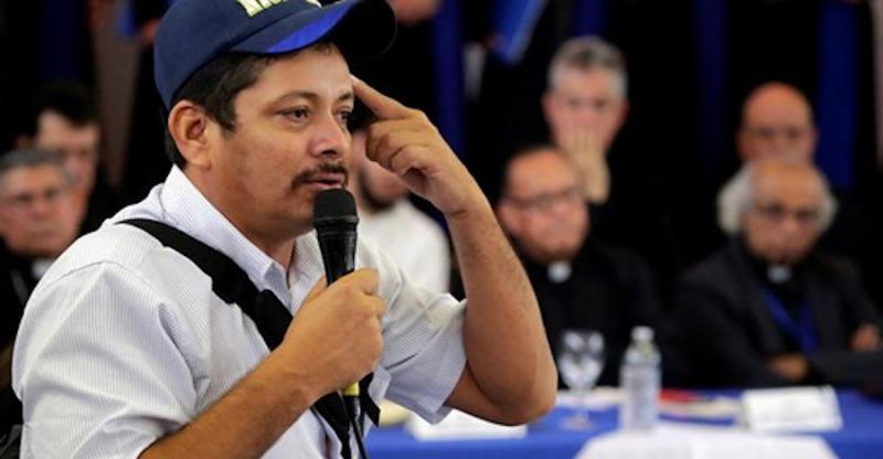 Die von Medardo Mairena geführte Anti-Kanalbewegung war, wie auch weitere Organisationen, nicht zu den Vereinigungsberatungen der Opposition eingeladen.