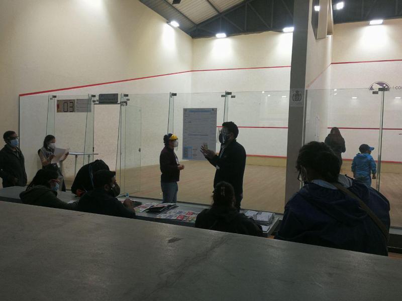 Auszählung der Stimmen in Cochabamba