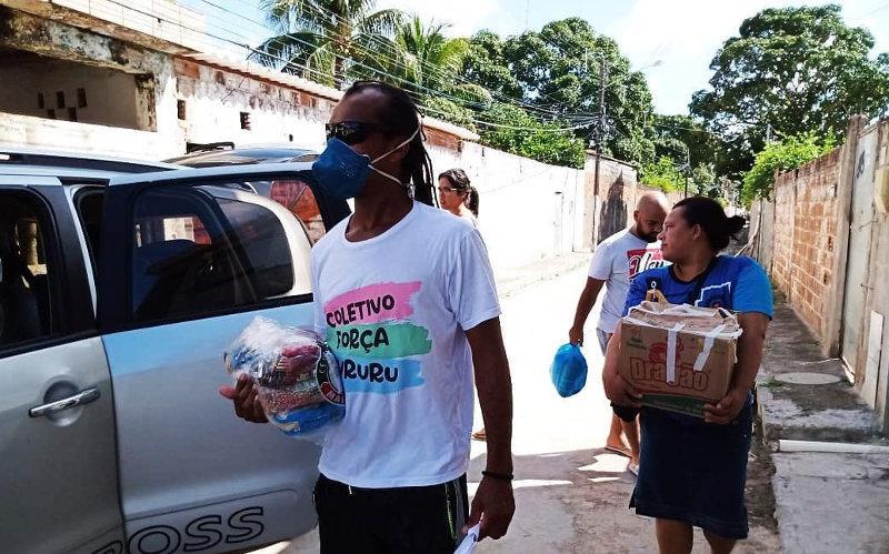 Kollektiv organisierte Lebensmittelspenden: Das Coletivo Força Tururu klärt auf und mobilisiert Spenden
