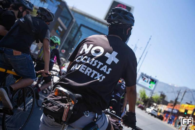 """Proteste in Chile: """"Keine toten Radfahrer:innen mehr"""""""