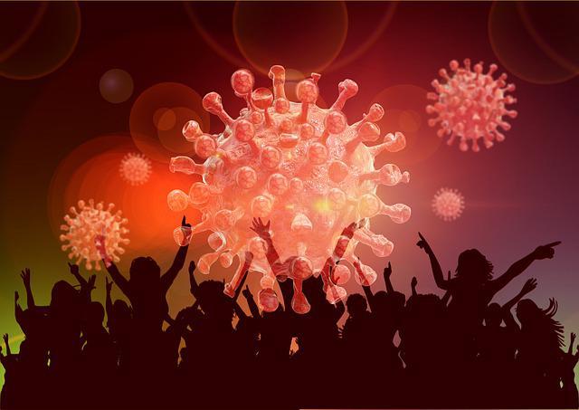 Menschen, die mit Covid-19 infiziert waren, erhielten eine besondere Einladung, sich mit gesunden Teilnehmern zu vermischen