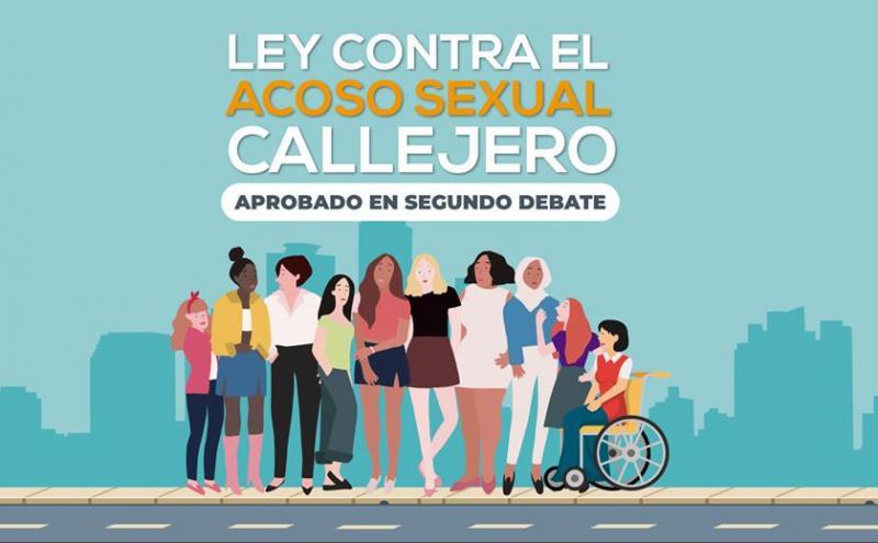 """Das """"Gesetz gegen sexuelle Belästigung auf der Straße"""" wurde am 14. Juli vom Parlament Costa Ricas angenommen"""