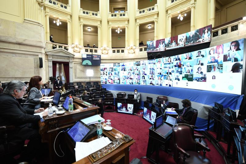 Der Senat in Argentinien hat nach langer Diskussion für die von Präsident Fernández angeregte Justizreform gestimmt