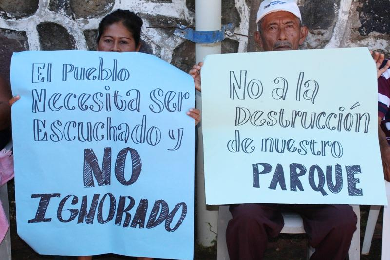 """""""Die Bevölkerung muss gehört und nicht ignoriert werden – Nein zur Zerstörung unseres Parks"""""""