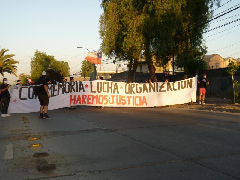 Demonstration in Renca