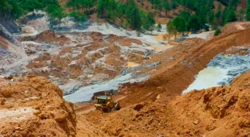 In Durango wurde eine Mine nach dem Austritt großer Mengen chemischer Substanzen vorübergehend geschlossen