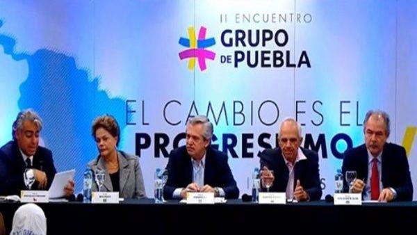 Die Puebla-Gruppe bei einem Treffen