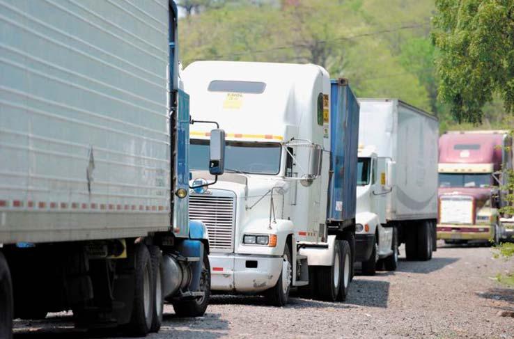 Der zwischen Costa Rica und Nicaragua blockierte Transport per LKW hatte Auswirkungen auf den gesamten Warenverkehr in Zentralamerika