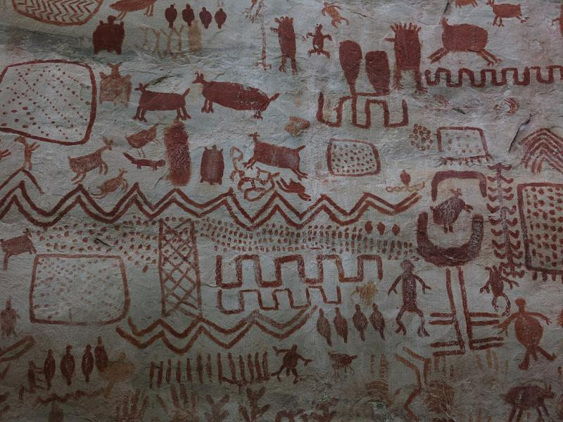 Höhlenmalerei, La Lindosa