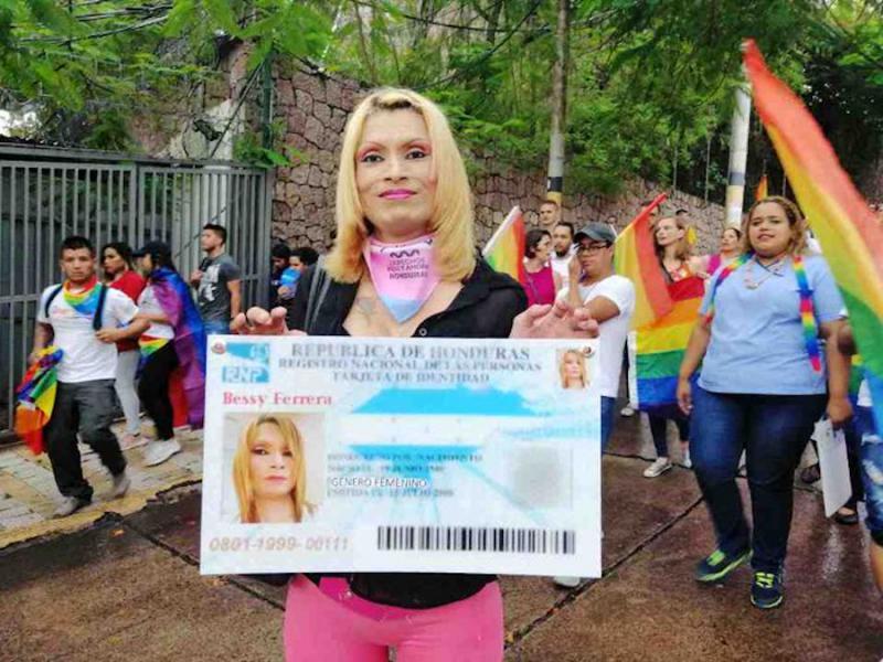 Bessy Ferrera wurde am 8. Juli 2019 in Tegucigalpa erschossen