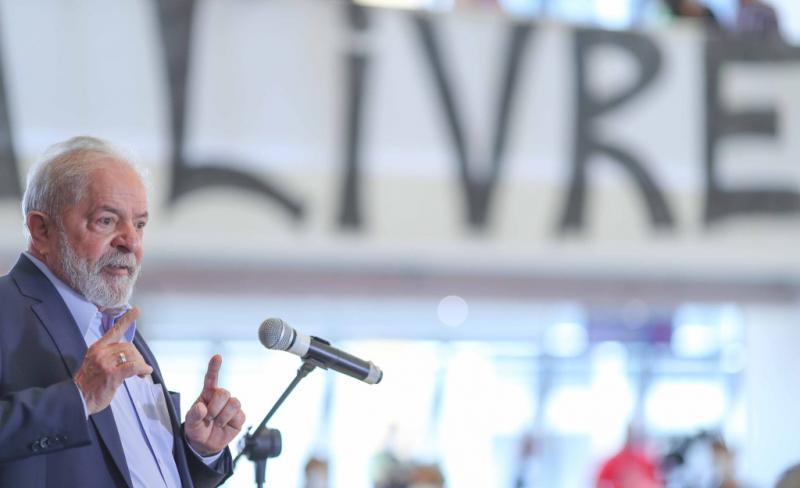 Lula da Silva ist ein emotionaler Redner