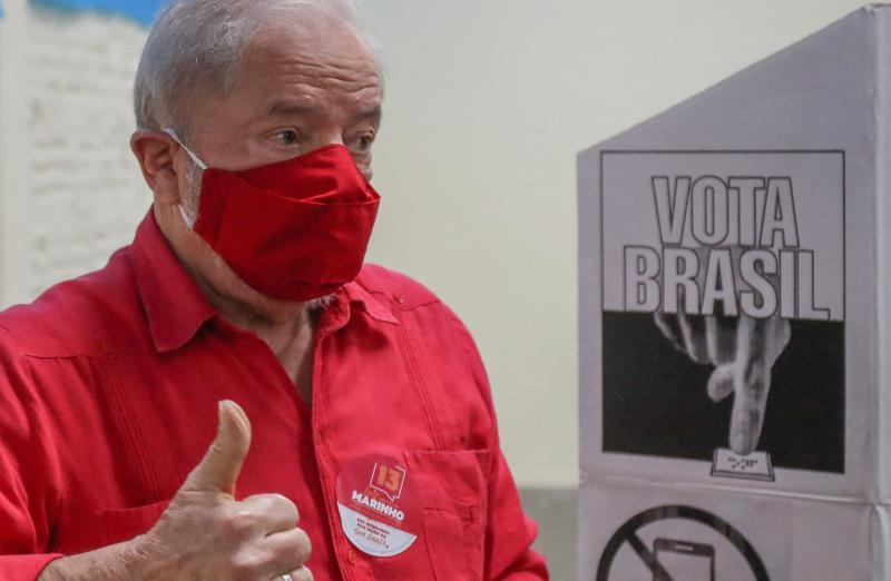 Will im kommenden Jahr wohl wieder Präsident von Brasilien werden: Lula da Silva