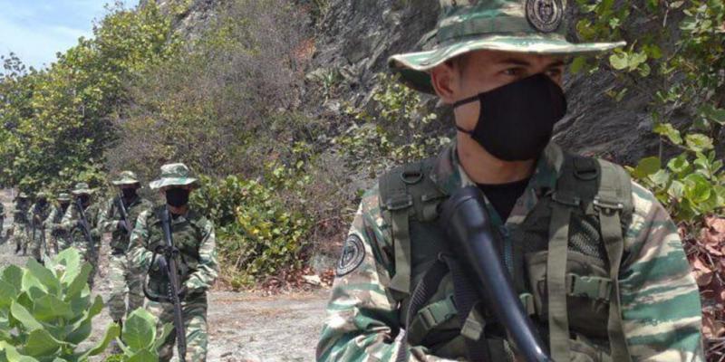 """""""Escudo Bolivariano"""": Venezolanische Soldaten in der Grenzregion zu Kolumbien"""